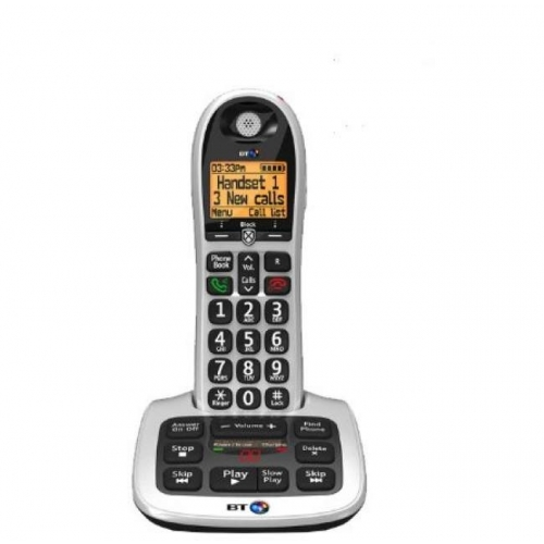 BT 4600 Big Button DECT Cordless Phone With Answering Machine & Nuisance Call Blocker - (1-3 Handsets)