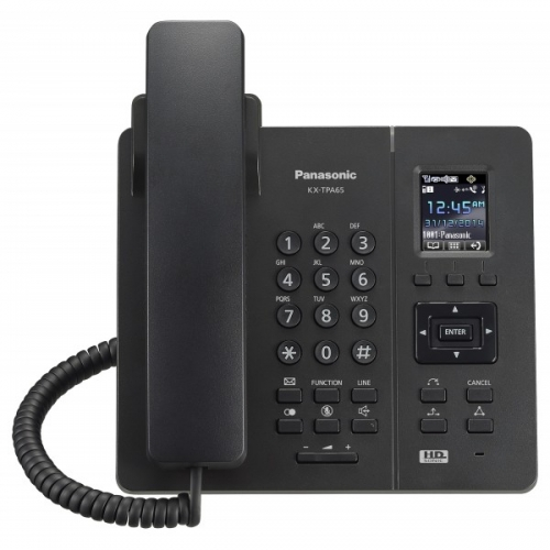 Panasonic KX-TPA65 Wireless Desk Phone - Black
