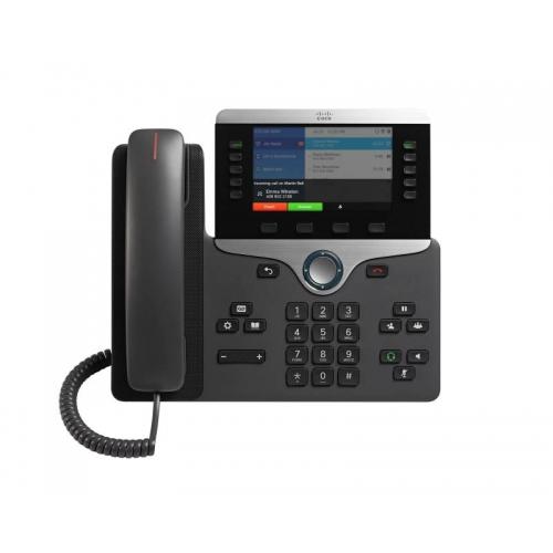 Cisco 8861 IP Phone with Multiplatform Firmware
