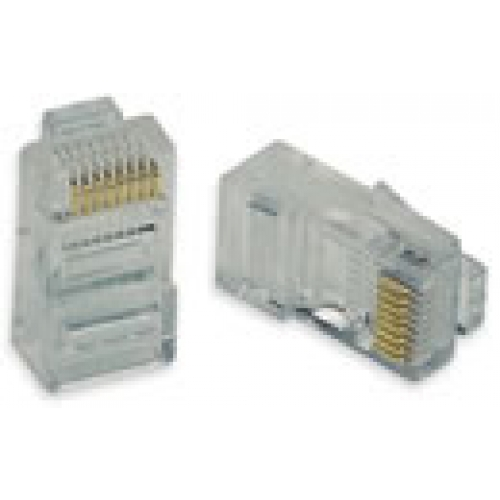 RJ45 Crimp Style Line Plug (Pack of 5) - 8 Position 8 Contact