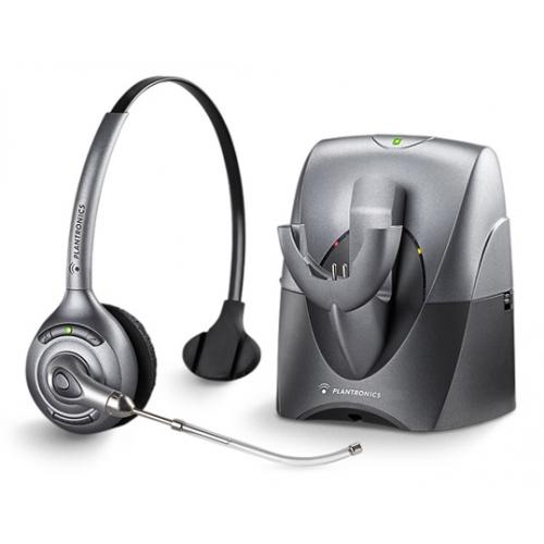 Plantronics CS351 Supra - Voice Tube Cordless Headset - A Grade