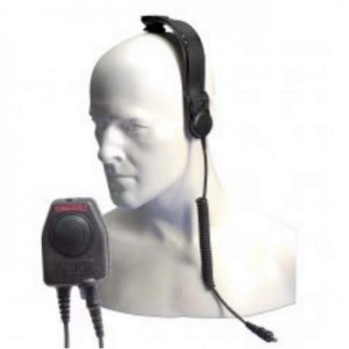 Entel CXR5-950 Bone Conductive Skull Microphone With In-Line PTT - New