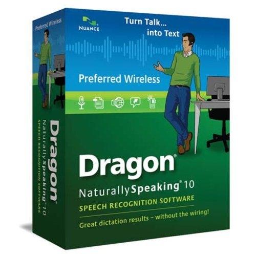 Dragon Naturally Speaking 10 Preferred Wireless Software