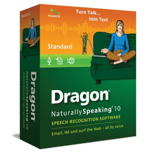 Dragon Naturally Speaking 10 Standard Software