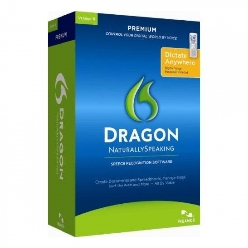 Dragon NaturallySpeaking 11 Premium Software