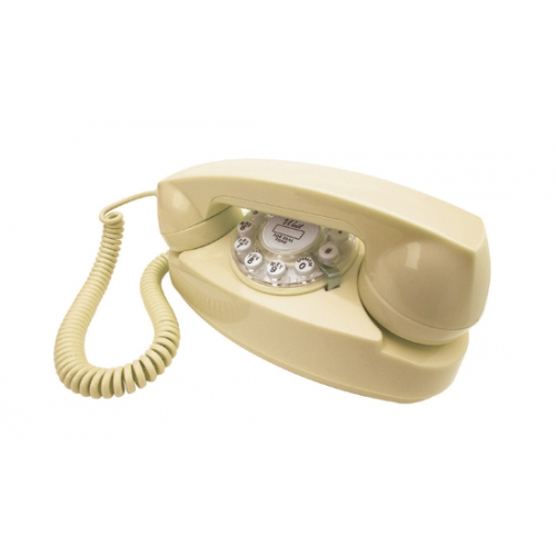 Henry Dreyfuss 1950's Princess Phone - Cream