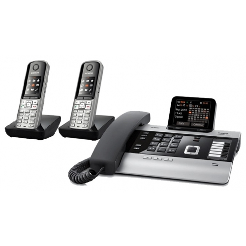 Gigaset DX800A All In One Telephone With Twin S79 Additional Handsets