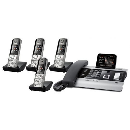 Gigaset DX800A All In One Telephone With Quad S79 Additional Handsets