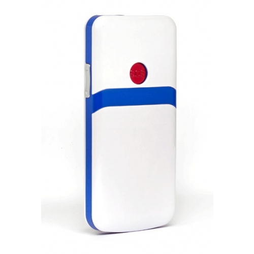 Easy Lux Sim Free Cordless Phone - Blue And White