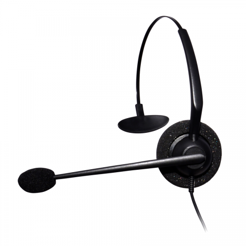 Entry Level Monaural Noise Cancelling Headset Compatible With Grandstream GXP1760