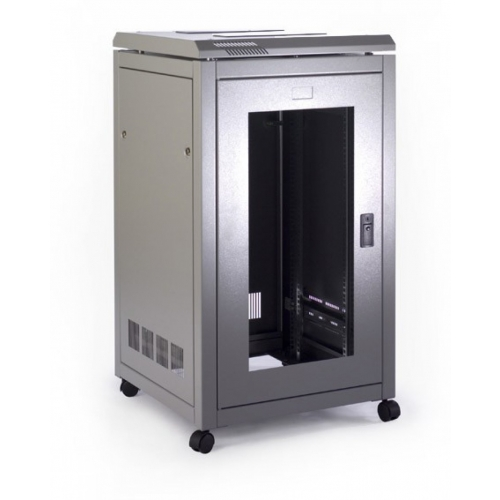 Prism Free Standing Cabinet 18U (990x600x800)