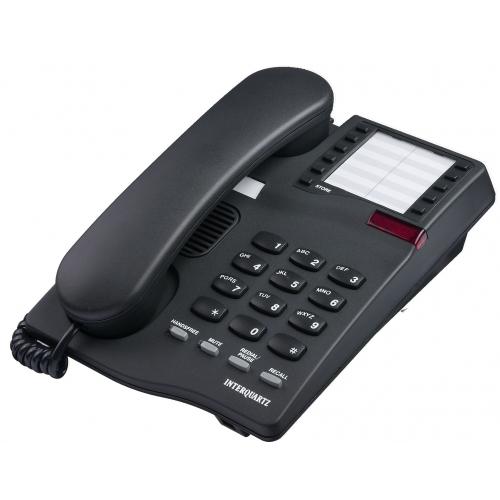 Interquartz Gemini Speakerphone 9333 Business Phone - Black