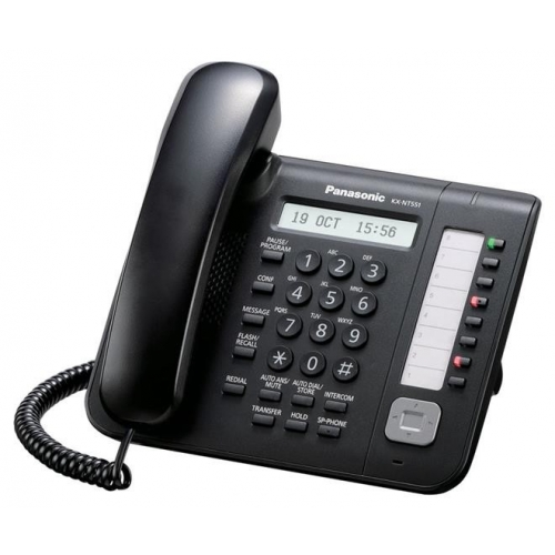 Panasonic KX-NT551 Standard IP Phone - Black