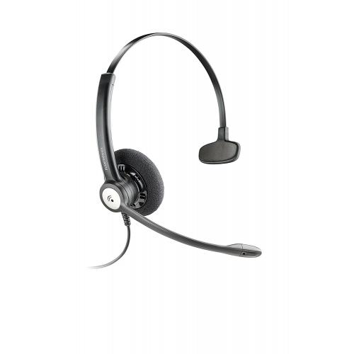 Plantronics Entera HW111N Monaural Wideband Noise Cancelling Office Headset