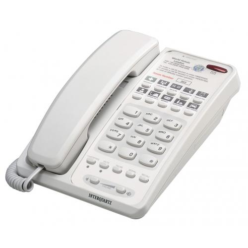 Interquartz Voyager Speakerphone 9283 Business Phone - Grey