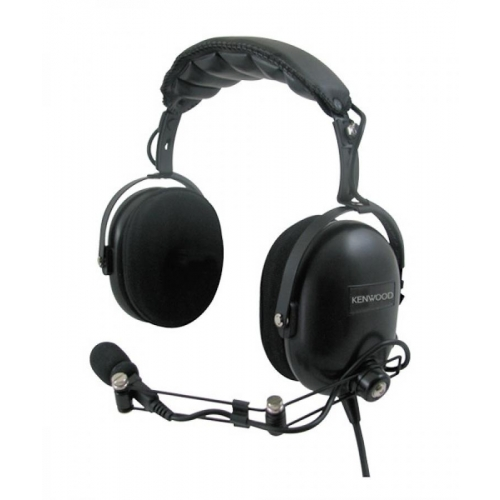 Kenwood KHS-10-OH Heavy-Duty Noise Reduction Headset with PTT - New