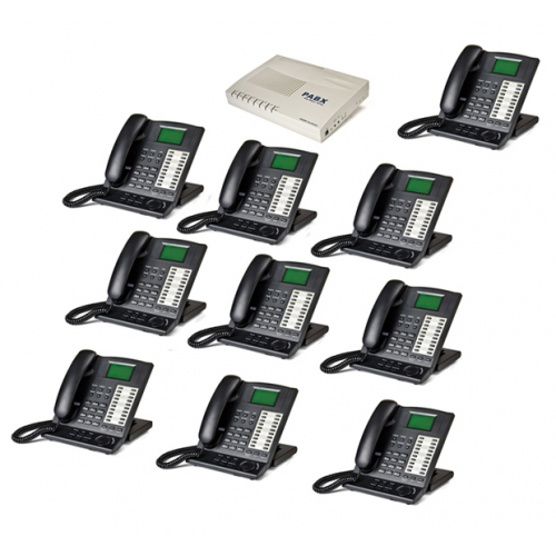 Orchid KS416 4 Line Telephone System and 10 x KP416 Key Telephones