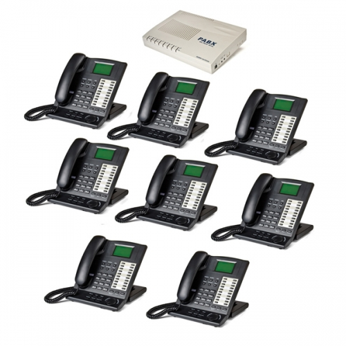 Orchid KS416 4 Line Telephone System and 8 x KP416 Key Telephones