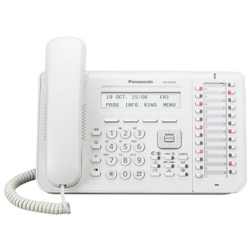 Panasonic KX-DT543 Digital 24 Key 3 Line Handset - White