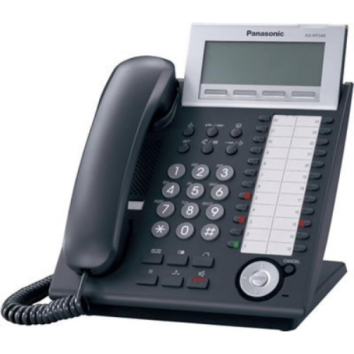 Panasonic KX-NT346 IP System Phone - Black - Refurbished