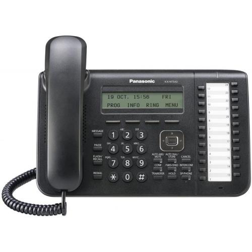 Panasonic KX-NT543 Standard IP Handset - Black