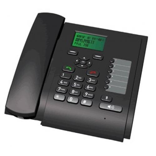 Telecom FM 3G Desk Phone - Quad Band GSM and 3G Desktop Phone
