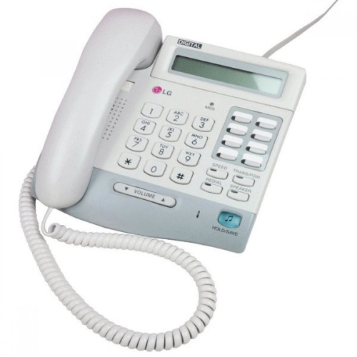LG LKD-8DS Button System Handset - White