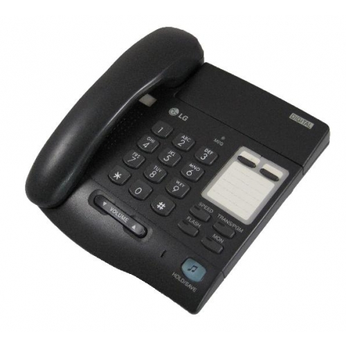 LG LKD 2 Button Handset - Black
