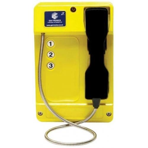 GAI-Tronics Commander Smart 3 Button - SC - Yellow