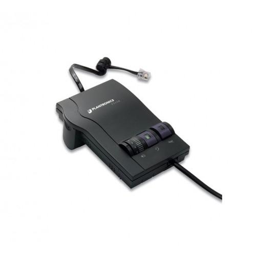 Plantronics M12 Vista Amplifier - A - Grade + Project 201 Binaural Voice Tube Headset