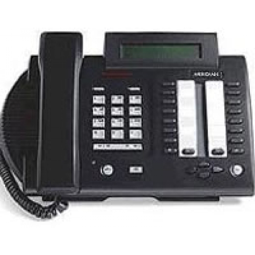Nortel Meridian M3820 Digital Business Telephone - Black