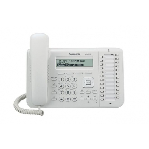 Panasonic KX-UT133 SIP Telephone - White