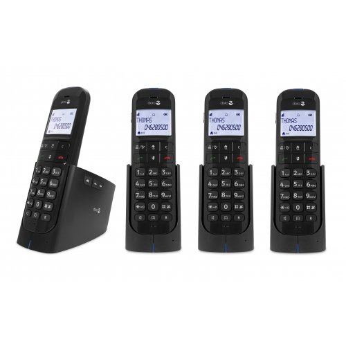 Doro Magna 2005 DECT Cordless Phone With Answering Machine - Quad