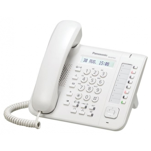 Panasonic KX-DT521 Digital Display Handset - White