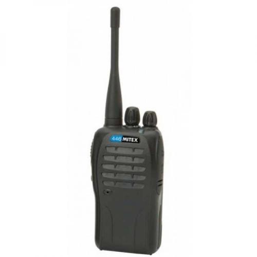 Mitex PMR446 UHF Single Two Way Radio