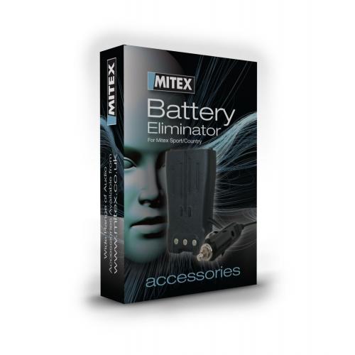 Mitex Battery Eliminator pack including 12V/24V Cigarette Lighter adapter for Mitex Sport/Country