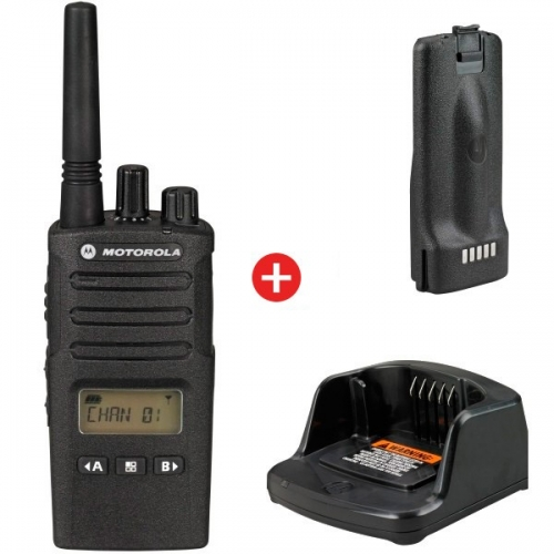 Motorola XT460 Two Way Business Radio With Charger