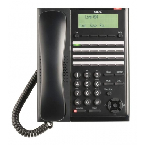 NEC SL2100 (2W) 24 Key Digital Handset - Black - New