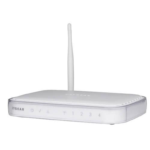 Netgear 54 Mbps Wireless-G ADSL Modem Firewall Router  DG834G