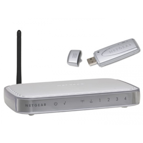 Netgear Includes a DG834G Wireless Modem Router & WG111 Wireless USB Adapter DGB111G