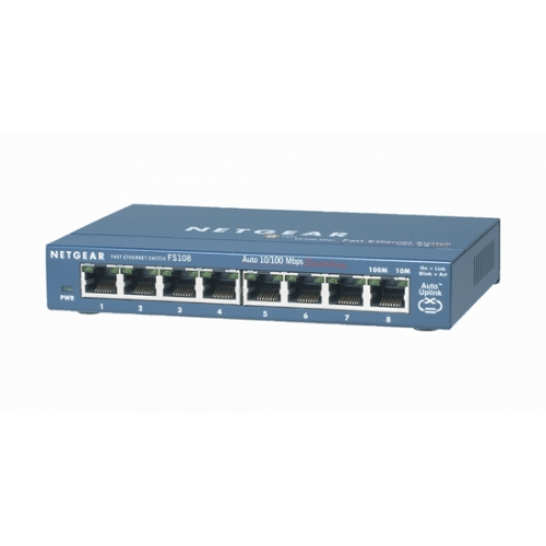 Netgear ProSafe™ 8-Port 10/100 Desktop Switch