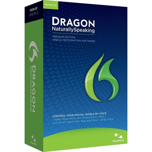 Nuance Dragon NaturallySpeaking Premium 12.0