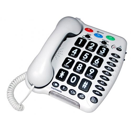 Geemarc Amplipower 50 Big-Button Telephone
