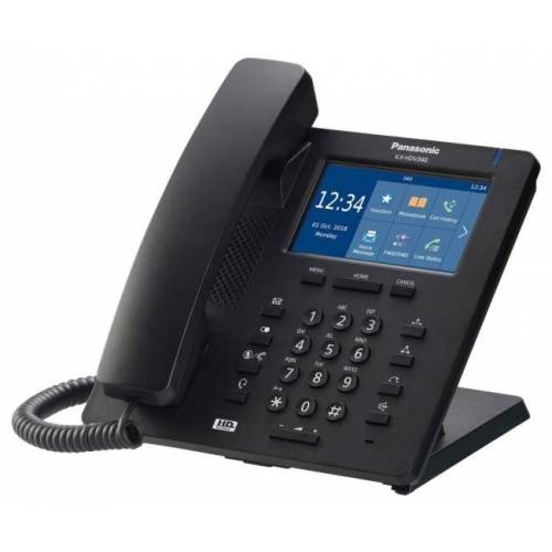 Panasonic KX-HDV340 Touch Screen Display SIP Telephone - Black - New