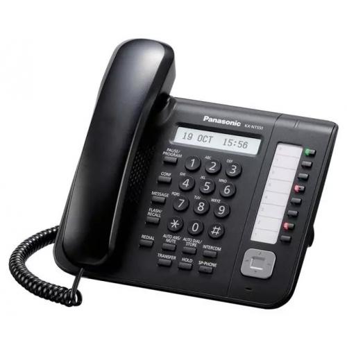 Panasonic KX-NT551 IP Phone - Black