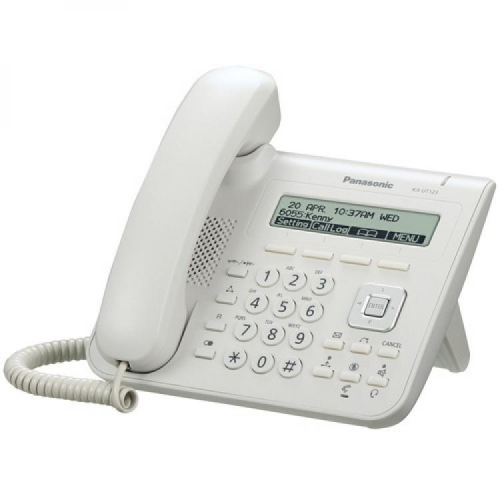 Panasonic KX-UT123X SIP Telephone - White