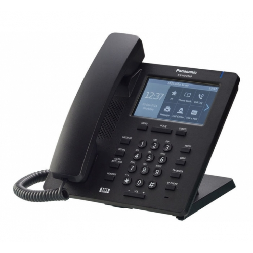 Panasonic KX-HDV330 SIP Deskphone - Black - Side