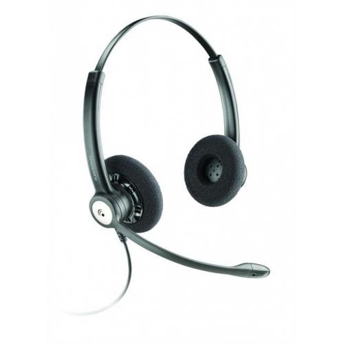 Plantronics Entera HW121N Binaural Wideband Noise Cancelling Office Headset