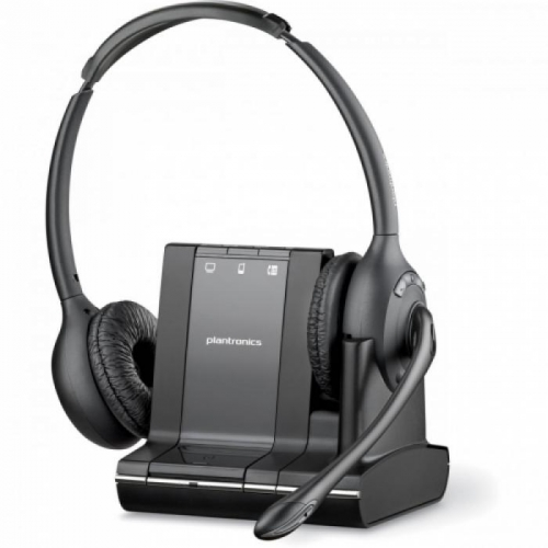 Plantronics Savi Office W720 Binaural Cordless Headset For PC, Desk Phone & Mobile