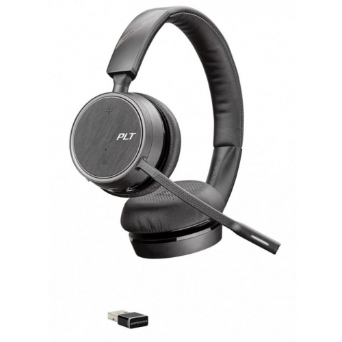 Plantronics Voyager B4220 UC - USB-A Binaural Bluetooth Headset - New